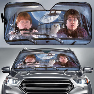 Harry Potter And Ron Auto Sun Shades