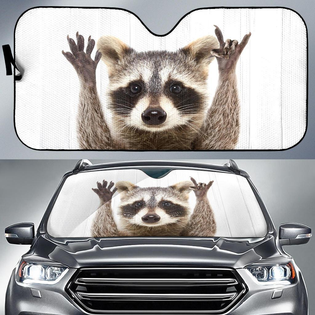 Raccoon Car Sun Shades Auto