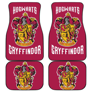 Movies Harry Potter Car Floor Mats Gryffindor Fan Gift H1224