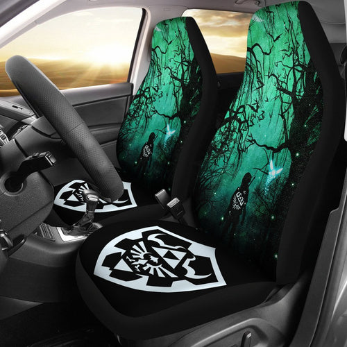 Legend Of Zelda Breath The Wild Anime Car Seat Covers 3