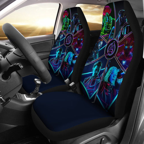 Avengers Mavel Car Seat Covers