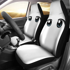 Funny Anime Eyes Car Seat Covers
