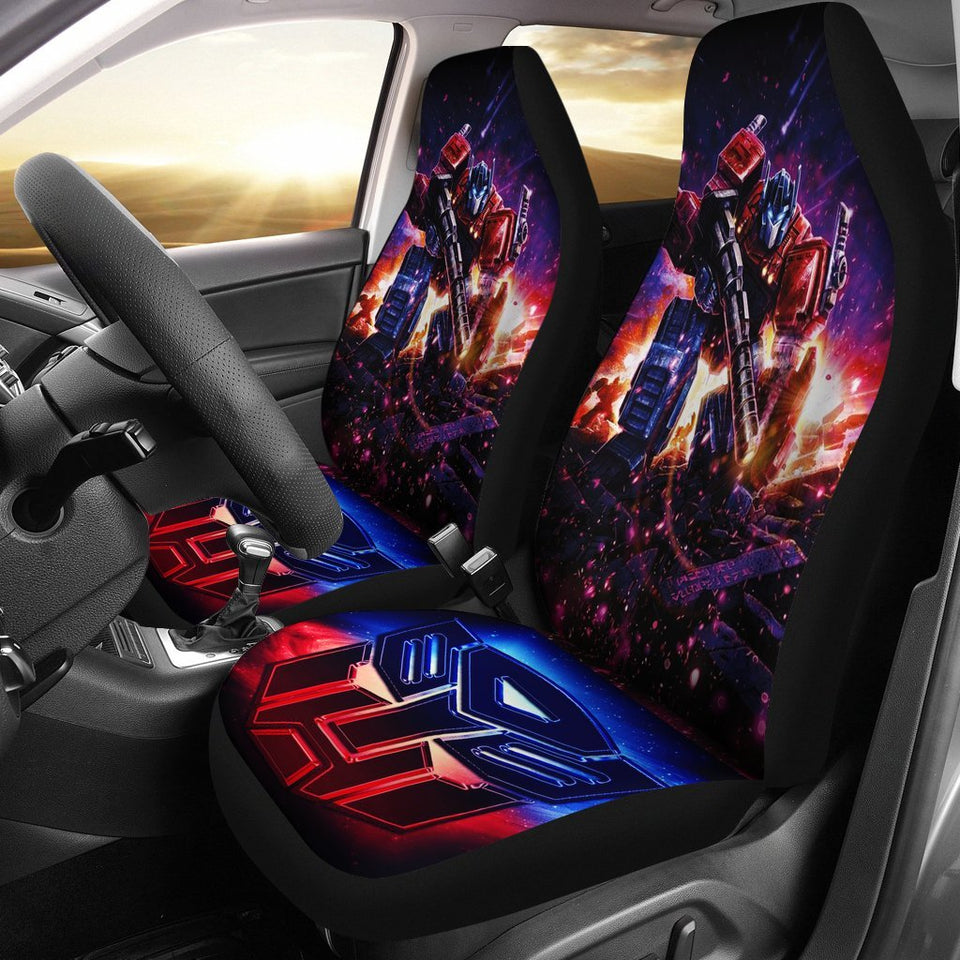 2017 NEW 10 PCs Transformers Universal Car Seat Covers