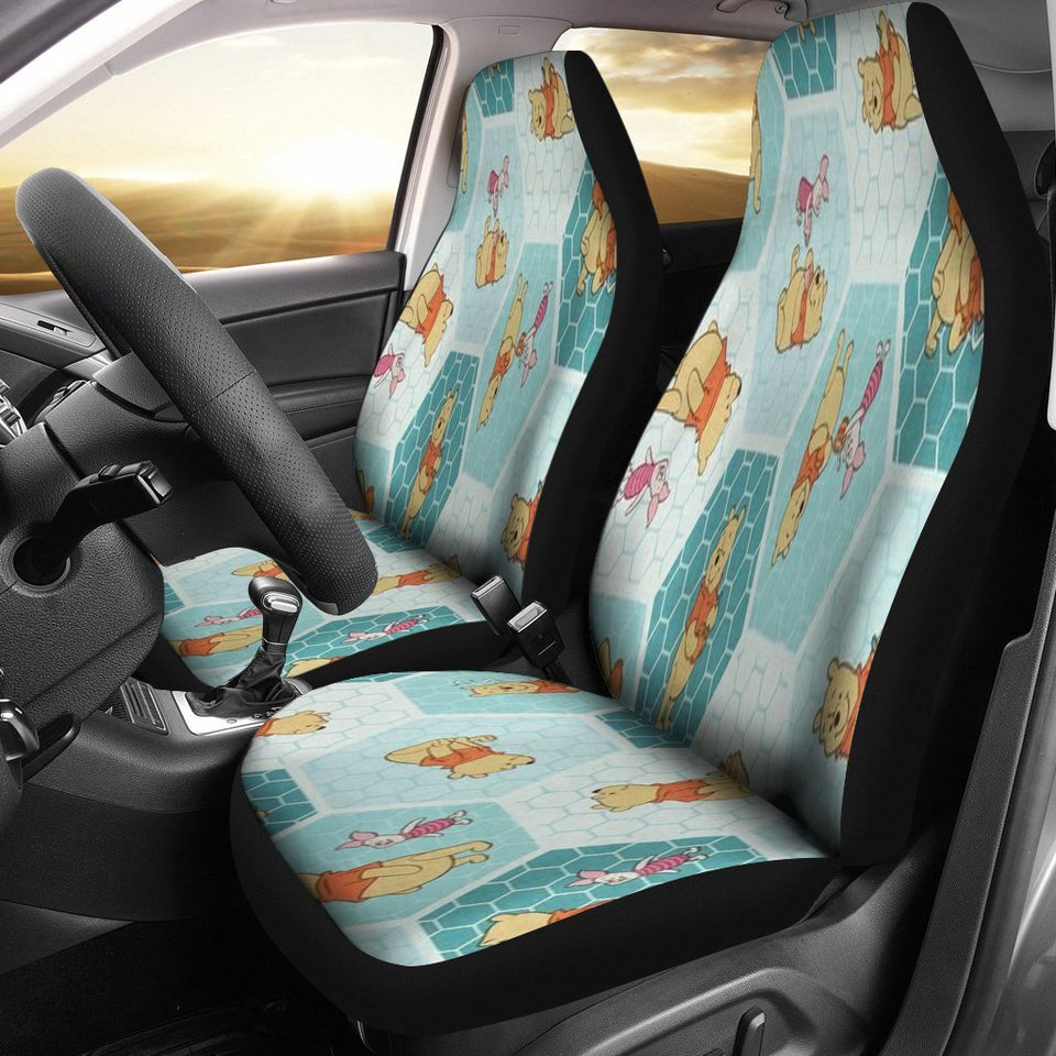 Car Seat Covers Pooh K1222 Car Seat Covers