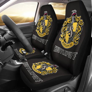 Harry Potter Movie Car Seat Covers Hufflepuff Fan Gift H1224