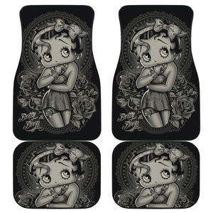Betty Boop Tattoo Art Car Floor Mats Cartoon Fan Gift H031720