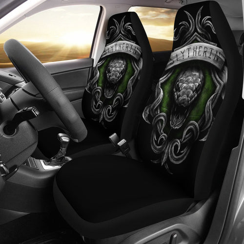 Slytherin Crest Harry Potter Car Seat Covers