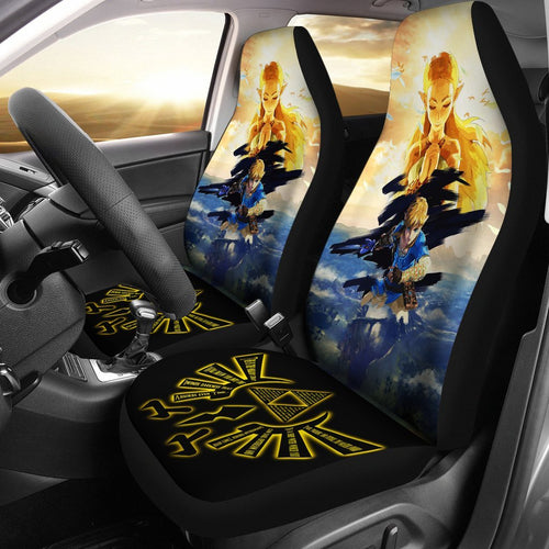 Legend Of Zelda Breath The Wild Anime Car Seat Covers