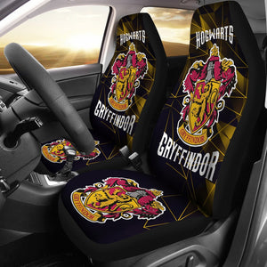 Movies Harry Potter Gryffindor Fan Gift Car Seat Covers H1225