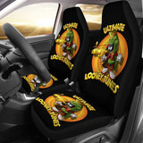 Cartoon Looney Tunes Martian Car Seat Covers H200215
