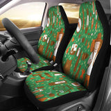 Camping Pattern Car Seat Covers Amazing Gift Ideas T032220