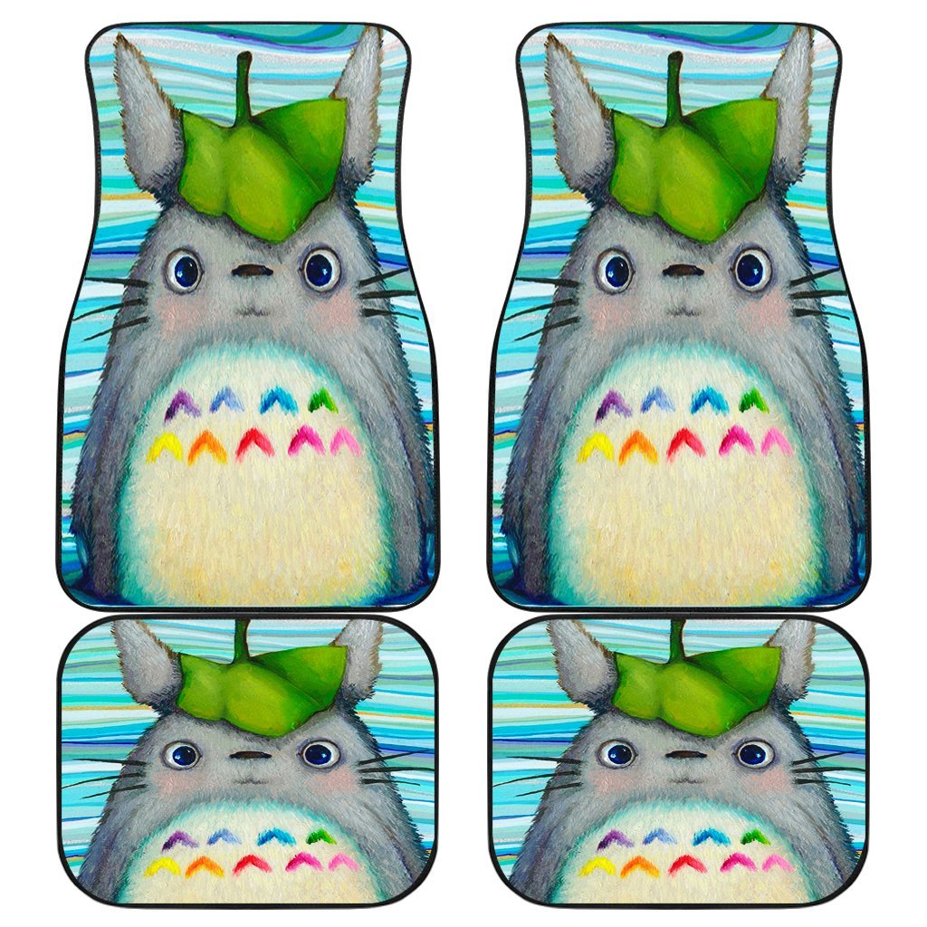 Cute Totoro Anime Car Floor Mats 191021