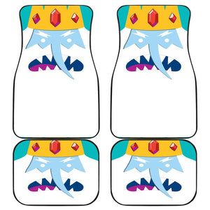 Ice King Adventure Time White Beard Car Floor Mats 191017