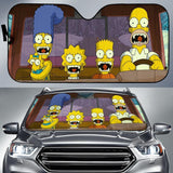 The Simpsons Funny Driving Auto Sun Shades