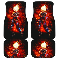 Goku Saiya God Dragon Ball Car Floor Mats 191023
