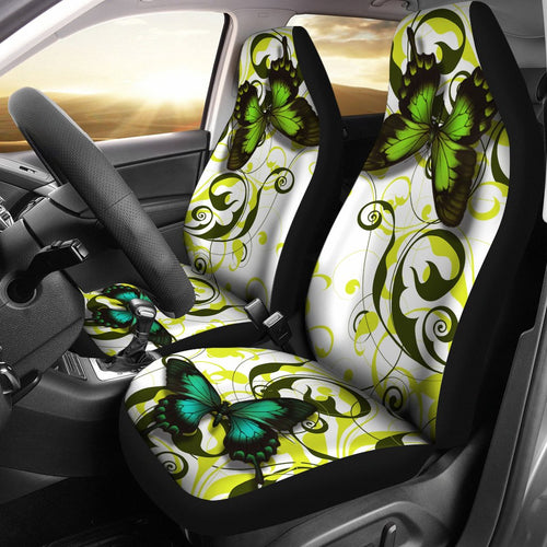 Green Butterfly Car Seat Covers Amazing Gift Ideas T0131