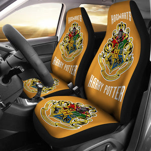 Hogwarts Harry Potter Movie Car Seat Covers Fan Gift H1225