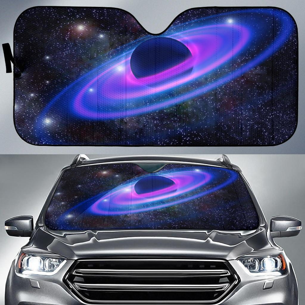 Planet Galaxy Car Sun Shades Auto