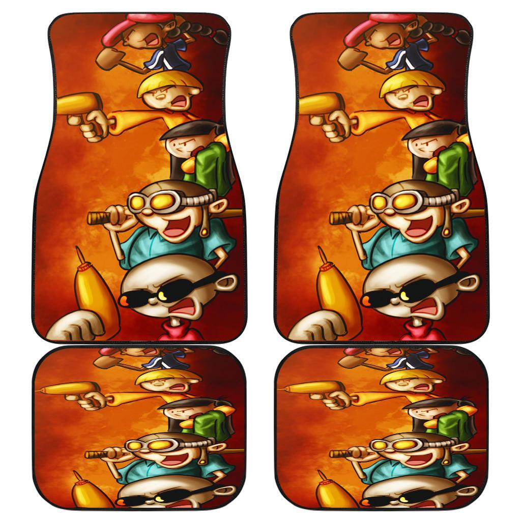 Kids Next Door Ed Edd Eddy Cartoon Network Car Floor Mats 191024