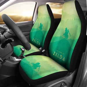 Legend Of Zelda Breath Of The Wild Car Seat Covers 1 - Amazing Best Gift Idea