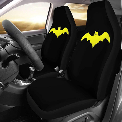 Logo Batman Car Seat Covers Movie Fan Gift T032120