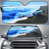 Letter Bottle With Sand & Sea Car Auto Sunshades Auto Sun Shades