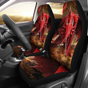 Red Dragon Car Seat Covers Amazing Gift Ideas T031420