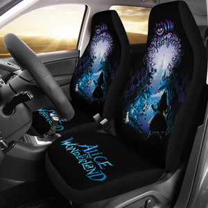Discover Castle Alice In Wonderland Disney Cartoon Car Seat Covers H040820