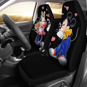Disney Cartoon Mickey And Minnie Mouse Car Seat Covers H0113
