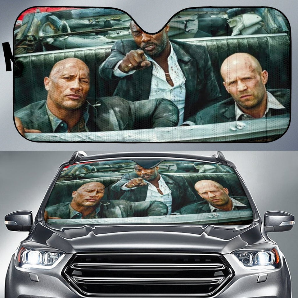 Fast And Furious Funny Car Sun Shade Auto Shades