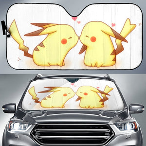 Pikachu Love Pokemon Auto Sun Shades
