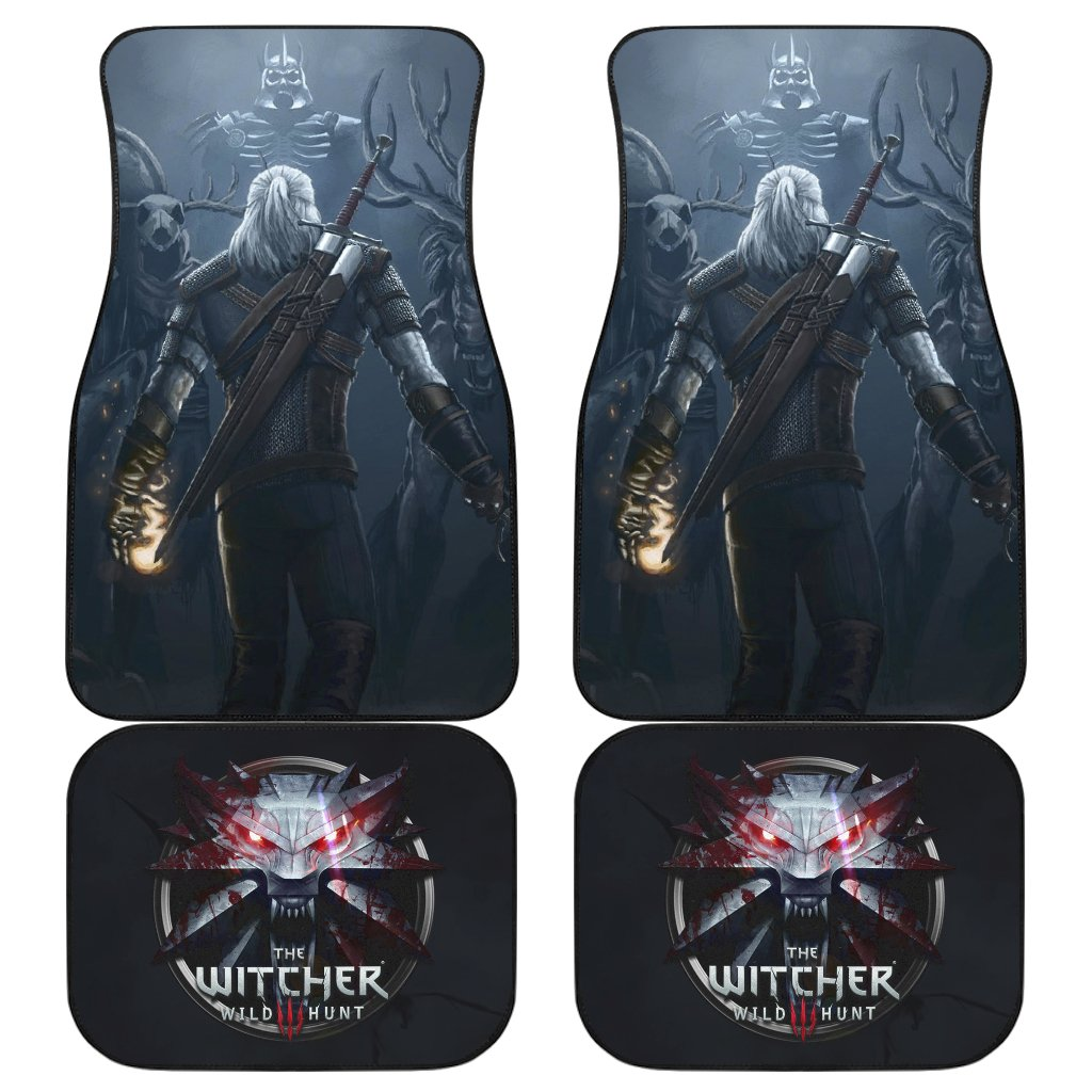 Game The Witcher 3: Wild Hunt Logo Geralt Car Floor Mats H1229
