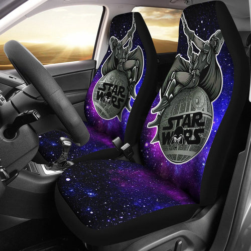 Darth Vader Wrecking Ball Galaxy Star Wars Car Seat Covers GFC042703