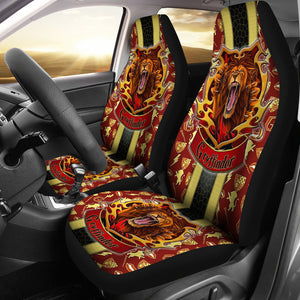 Harry Potter Gryffindor Art Car Seat Covers Movie Fan Gift H050820