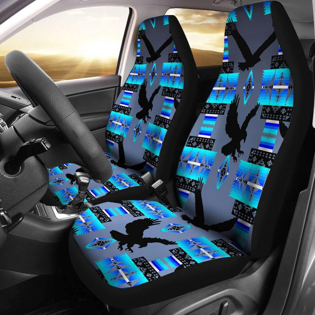 Eagle Midnight Lake Car Seat Covers Amazing Gift Ideas T032720