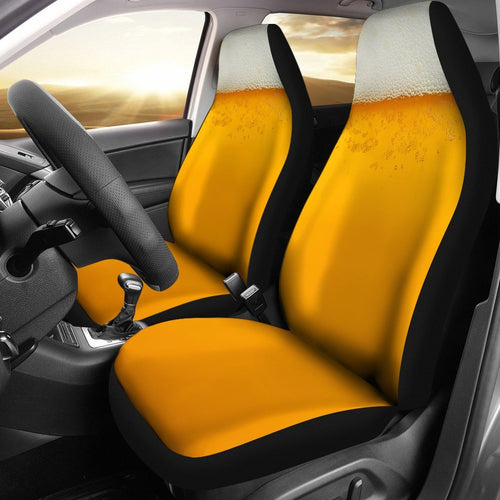 Beer In A Cup Car Seat Covers 191121