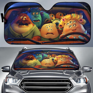 Monster University Funny Driving Auto Sun Shade Shades