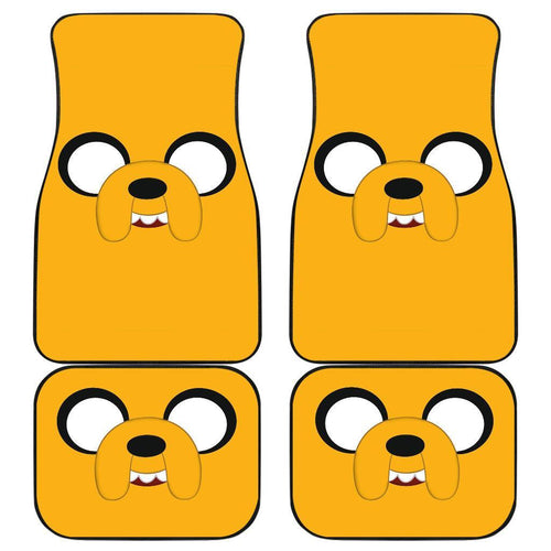 Jack Adventure Time Cartoon Car Floor Mats 191017
