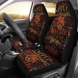 Harry Potter Car Seat Covers Movie Fan Gift T0205