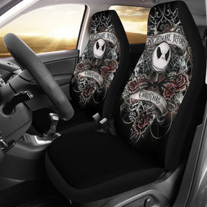 Jack Nightmare Before Christmas Car Seat Covers Cartoon H0115