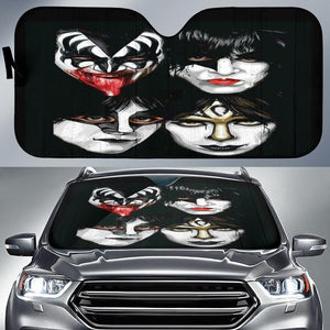Kiss Band Auto Sun Shades 1