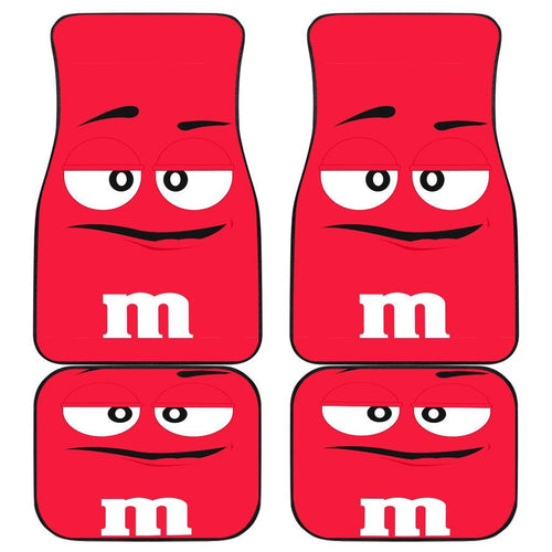 M&m Red Chocolate Car Floor Mats 191024