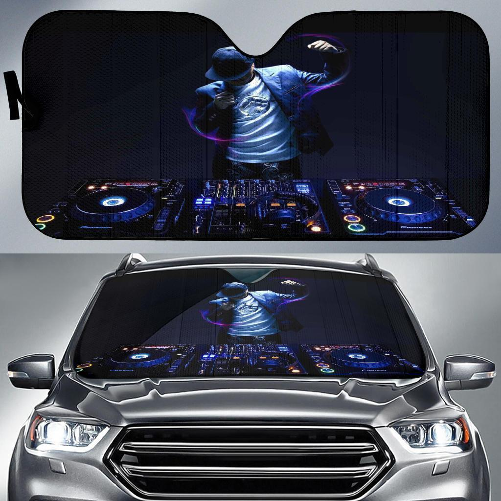 Dj 3D Car Sun Shades Auto