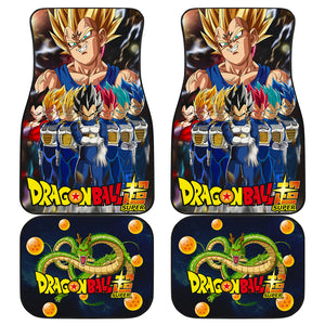 Dragon Ball Vegeta Art Car Floor Mats Manga Fan Gift H060920