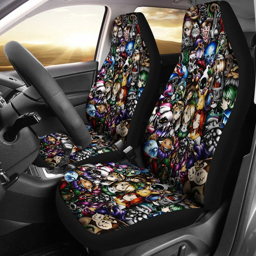 Legend Of Zelda All Characters Car Seat Covers - Amazing Best Gift Idea