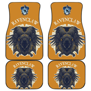 Harry Potter Car Floor Mats Hogwarts Ravenclaw Death Corbie 191212