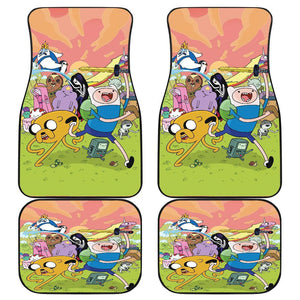 All Characters Adventure Time 6 Cartoon Party Car Floor Mats 191017