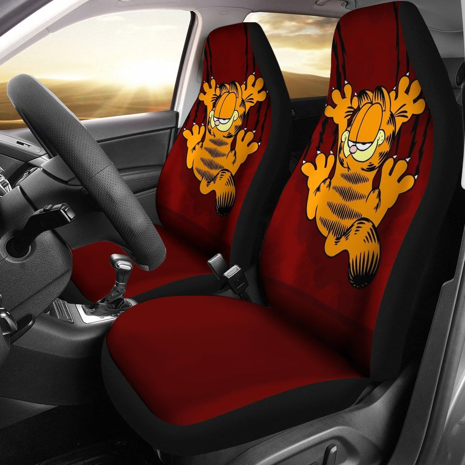 Garfield Funny Seat Cover