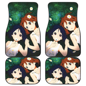 K On Anime Girl Couple Car Floor Mats 191023