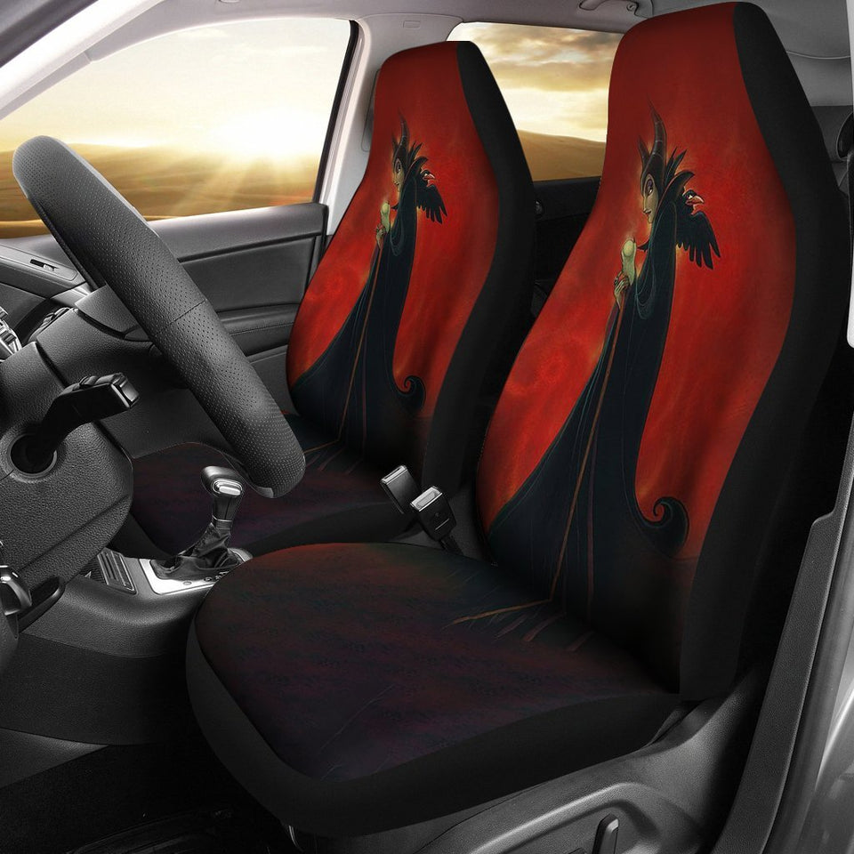 Car Seat Covers Disney Villains K1222